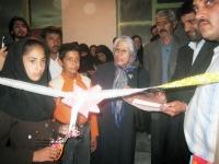 افتتاح آزمایشگاه دبستان شهید منجم