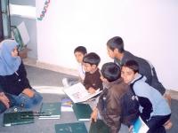 اعضای کتابخانه با فرهنگنامه کودکان و نوجوانان آشنا می شوند