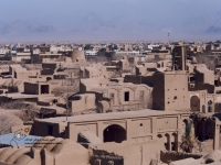 چشم اندازی از بافت قدیمی روستای بفروئیه