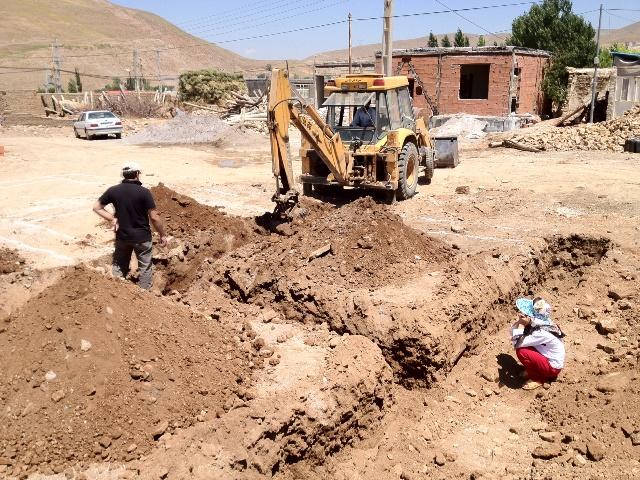 آغاز پروژه های منطقه زلزله زده روستای آذربایجان شرقی