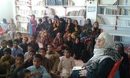افتتاح ساختمان جدید کتابخانه روستای آبادان