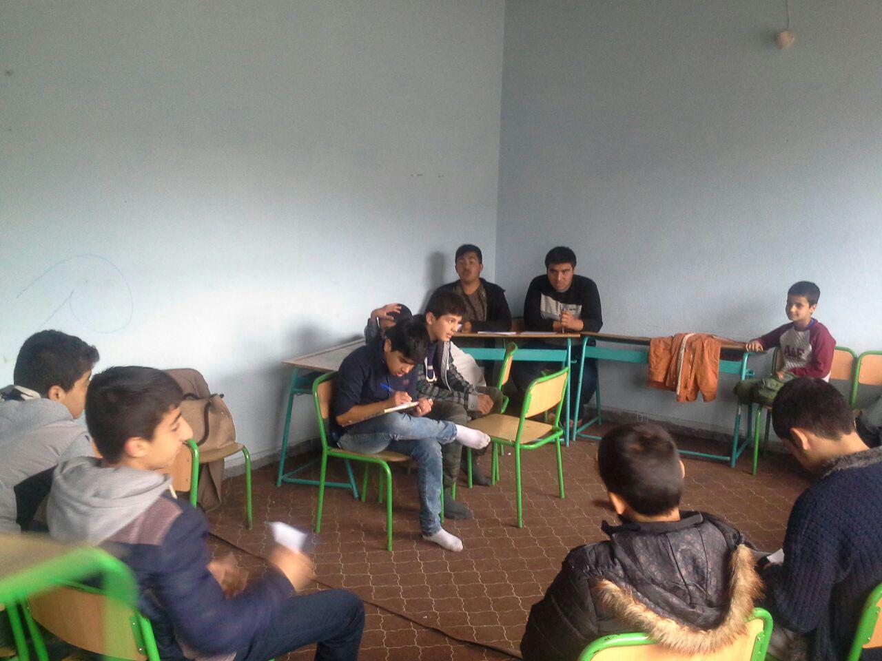 گروههای کتابخوانی در کتابخانه گنجه